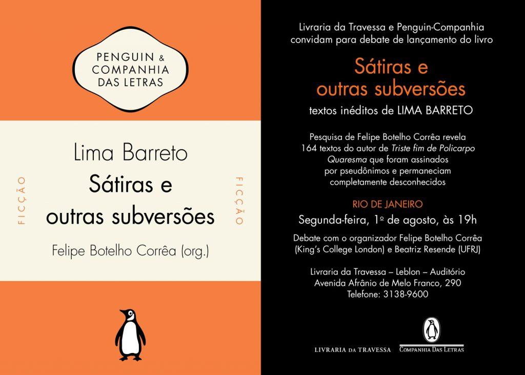 Lima Barreto - Travessa